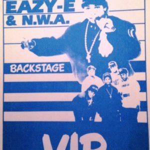 EAZY-E & NWA. V.I.P. – Backstage Pass