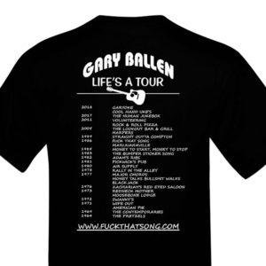 Gary Ballen T-Shirt Package