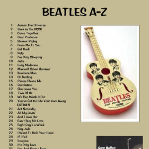 Beatles A-Z Ukulele Book